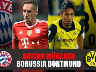 Bayern Munich vs Borussia